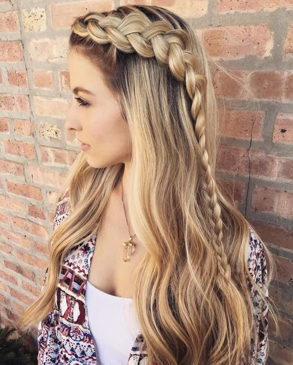 Braided Hairstyles For Long Hair (Trending In June 2019) Within Long Hairstyles Braids (View 14 of 25)