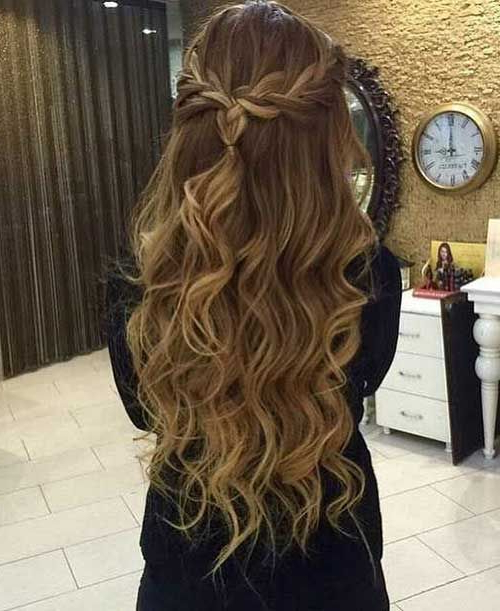 Braided Prom Hair | Formsl Hair | Braided Prom Hair, Hair Styles With Wavy Prom Hairstyles (View 3 of 25)