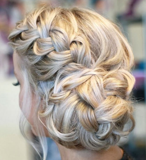 Braided Updos 2015 With Messy Braided Prom Updos (View 21 of 25)