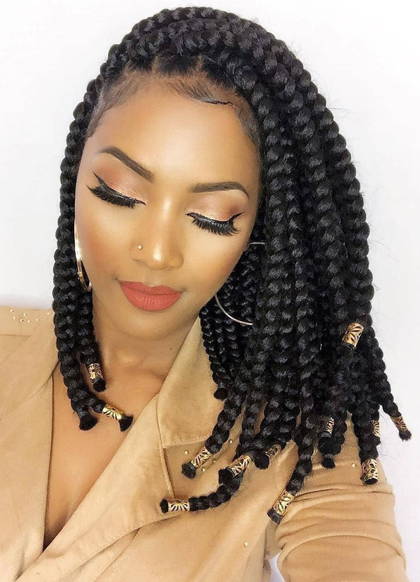 Braids Hairstyles For Black Women – Evesteps With Regard To Black Female Long Hairstyles (View 12 of 25)