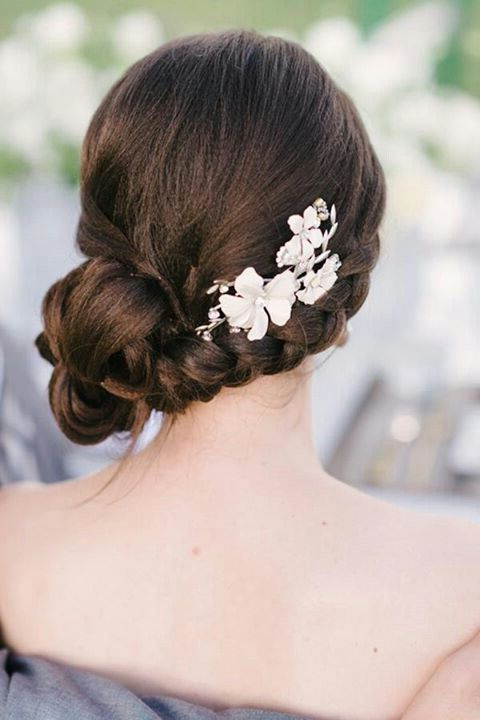 Featured Photo of Side Bun Prom Hairstyles With Jewelled Barrettes