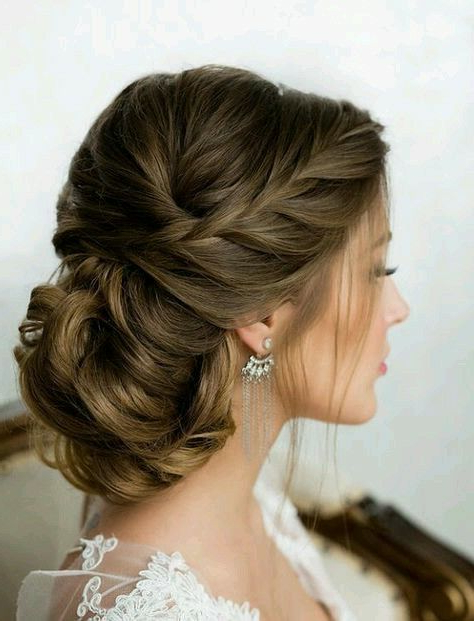 Bridal Hairdo | Street Fashion | Bridal Hair, Wedding Hairstyles Intended For Spirals Side Bun Prom Hairstyles (View 23 of 25)