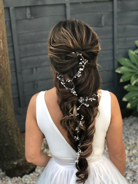 Bridal Hairstyles For Long, Thick, Heavy Hair – Wedding Make Up And Pertaining To Hair Clips For Thick Long Hairstyles (View 5 of 25)