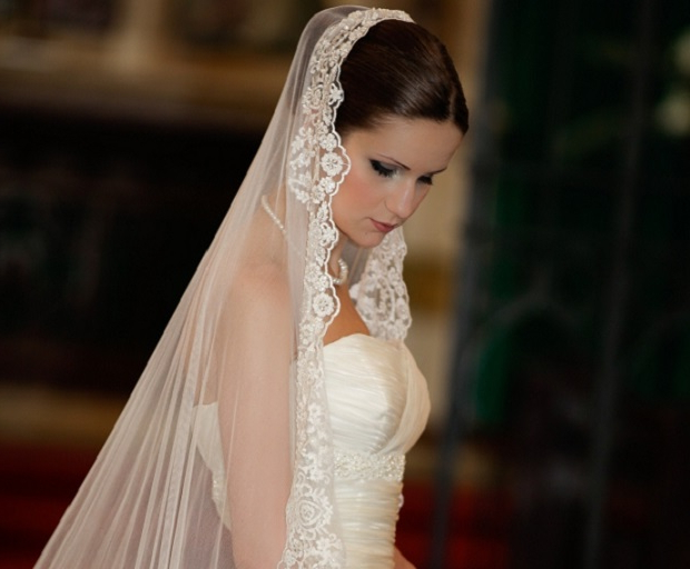 Bridal Hairstyles With Long Veils – She'said' Within Long Hairstyles Veils Wedding (View 18 of 25)