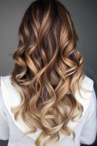 Brown Hair With Balayage Caramel Highlights – Hair World Magazine Regarding Warm Toned Brown Hairstyles With Caramel Balayage (View 5 of 25)