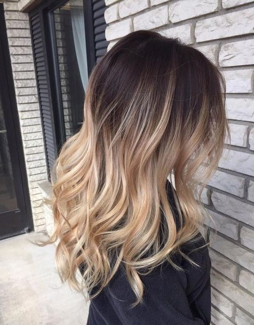 Brown To Blonde Ombre Hair Hair Blonde Hair Hair Ideas Hairstyles With Regard To Ombre Long Hairstyles (View 18 of 25)