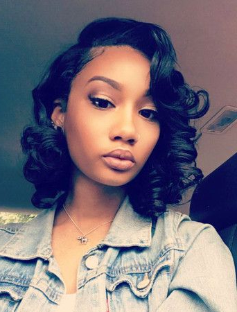 Buy This High Quality Wigs For Black Women Lace Front Wigs Human With Regard To Black Female Long Hairstyles (View 13 of 25)