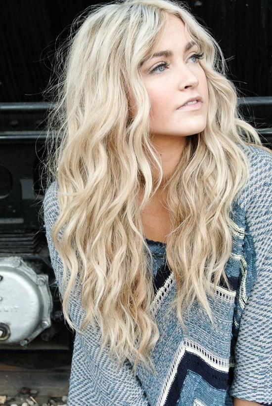Cara Loren Beach Waves – Long Hairstyles How To Pertaining To Long Hairstyles Beach Waves (View 17 of 25)