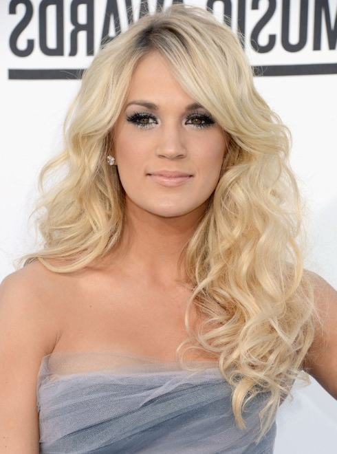 Carrie Underwood Curly Hairstyles – Popular Haircuts Inside Carrie Underwood Long Hairstyles (View 2 of 25)