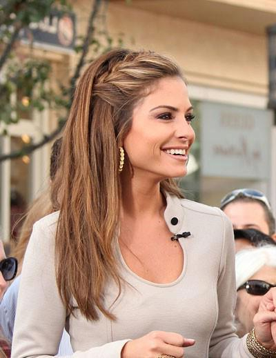 Casual French Braid Hairstyle For Long Hair – Hairstyles Weekly With Regard To Casual Braids For Long Hair (View 7 of 25)