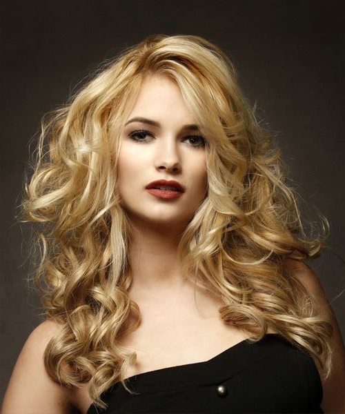 Casual Long Wavy Hairstyle – Blonde Hair Color Intended For Long Voluminous Hairstyles (View 19 of 25)