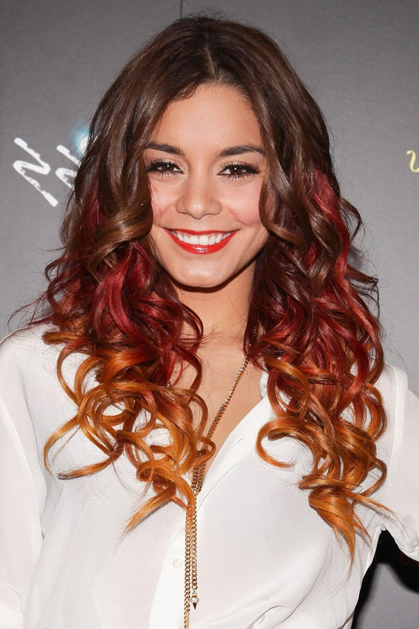 Celebrities With Dip-Dyed Hair Color - Women Hairstyles with regard to Long Hairstyles Dip Dye