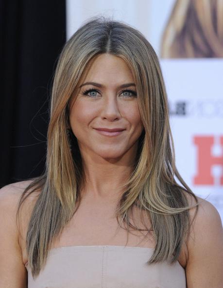 Celebrity Hairstyle Ideas: Jennifer Aniston Long Blonde Hairstyle within Jennifer Aniston Long Haircuts