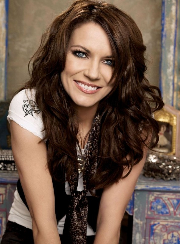 Celebrity Long Thick Wavy Hairstyle - Martina Mcbride Hairstyles pertaining to Long Hairstyles Thick Wavy Hair