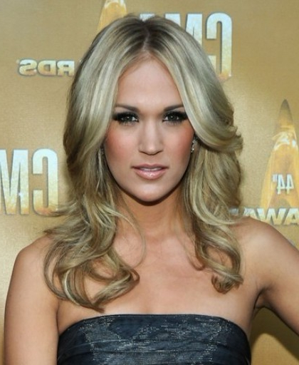 Celebrity Long Wavy Hairstyles 2012 - Popular Haircuts pertaining to Long Hairstyles Celebrities