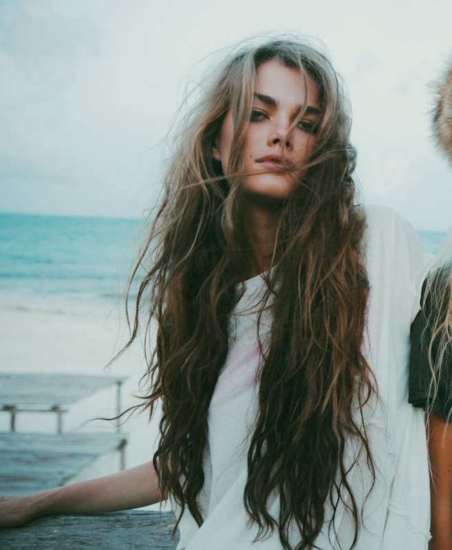 Chanelnumber7? | L U S C I O U S L O X | Hair, Curly Hair Styles With Regard To Messy Long Hairstyles (View 12 of 25)