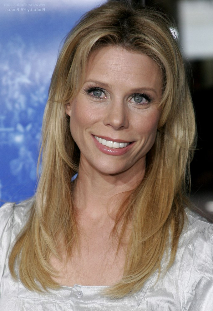 Cheryl Hines | Easy To Style And Low Maintenance Youthful Look For In Long Hairstyles Low Maintenance (View 20 of 25)