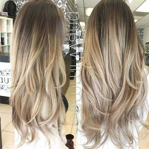 Chic And Trendy Layered Hairstyles For Long Hair - Olready throughout Long Layered Ombre Hairstyles
