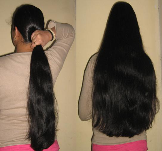 Chic Hairstyle For Waist Length Hair – Indian Makeup And Beauty Blog Pertaining To Indian Hair Cutting Styles For Long Hair (View 16 of 25)