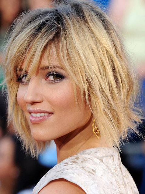 Choppy Blonde Bob Haircut Ideas - Hair World Magazine intended for Long Blonde Choppy Hairstyles