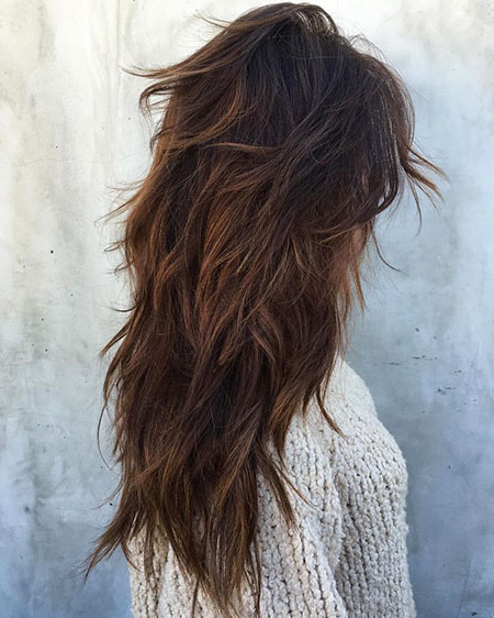 Choppy Layers Long Curly Hair - Short Curly Hair within Long Hairstyles Choppy Layers