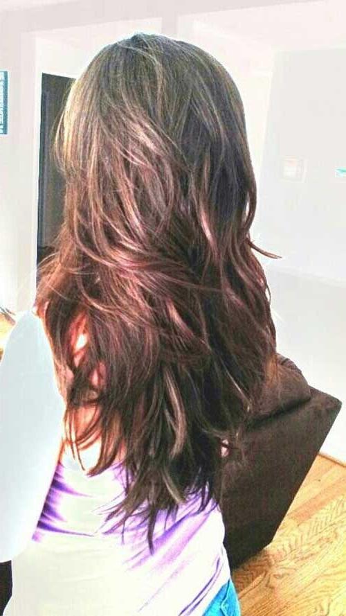Choppy Long Hairstyles With Layers … … | Hair | Hairc… Inside Choppy Long Hairstyles (View 21 of 25)