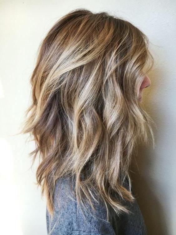 Chunky Layered Haircuts Long Hair, Choppy Layered Haircuts For Long Regarding Choppy Long Haircuts (View 3 of 25)