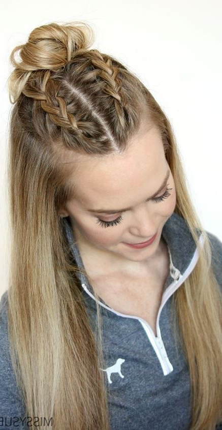 Classy And Simple Hairstyle Ideas For Thick Hair | Braided Regarding Braids Hairstyles For Long Thick Hair (View 9 of 25)