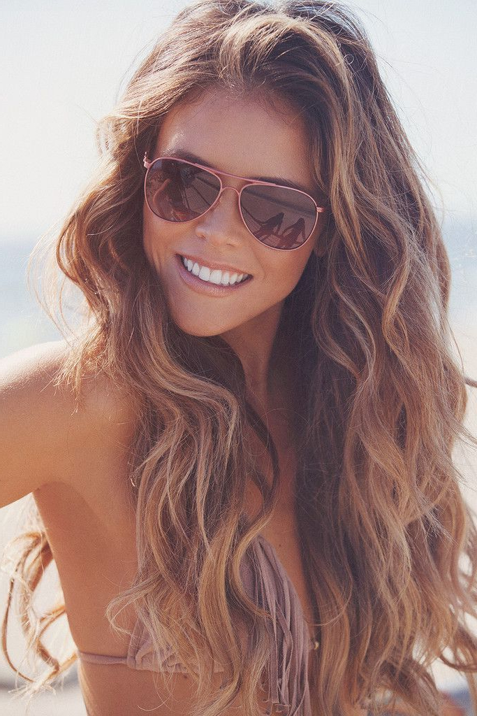 Classy Beach Hair You Haven't Tried Yet | Locks | Hair, Hair Styles Intended For Long Hairstyles Beach Waves (View 3 of 25)