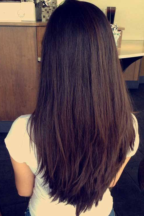 Classy Layers For U-Shaped Cut- Layered Hairstyles For Long Hair throughout Long Hairstyles U Shaped