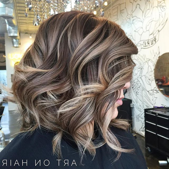 Featured Photo of Choppy Dimensional Layers For Balayage Long Hairstyles