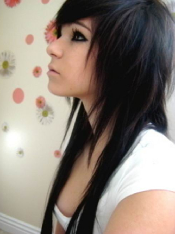 Cool Emo Haircuts For Girls Short Hairstyle Names | Globezhair | Fox Inside Long Hairstyles Emo (View 6 of 25)