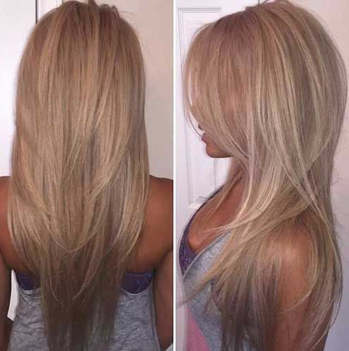 Featured Photo of Short Layered Long Hairstyles