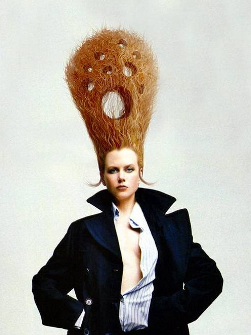 Crazy Hairstyles Image Gallery | Weird But Fun | ????? Within Crazy Long Hairstyles (View 5 of 25)