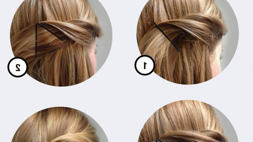 Creative Bobby Pins Hairstyle | Chikk With Long Hairstyles With Bobby Pins (View 9 of 25)