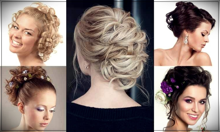 Curly Hairstyles: 45 Ideas And Tutorial To Learn Within Dishevelled Side Tuft Prom Hairstyles (View 4 of 25)