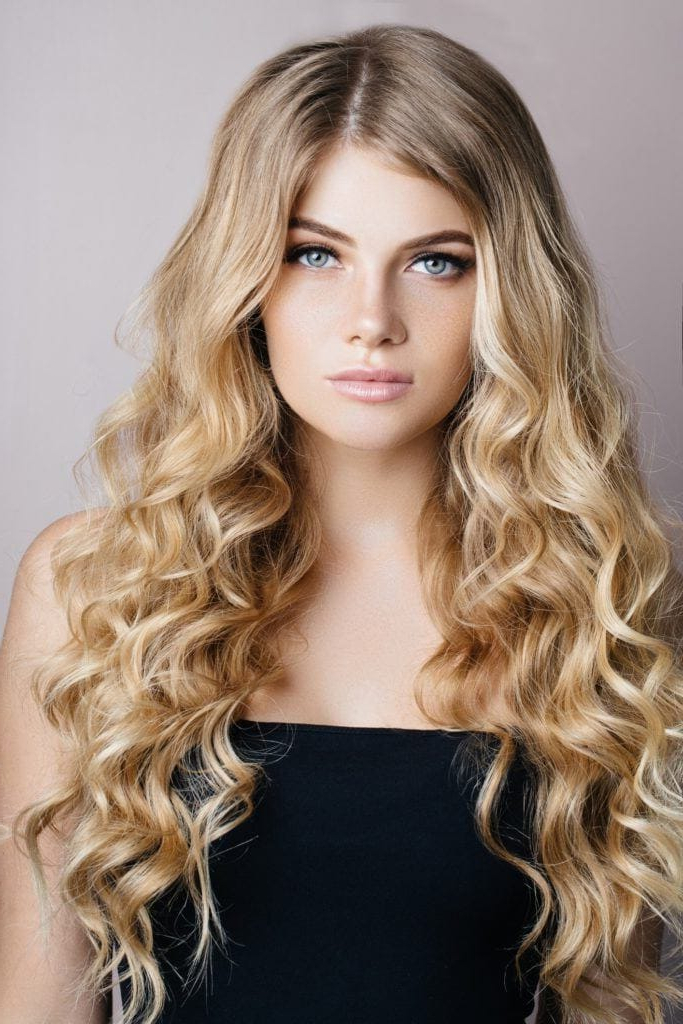 Curly Hairstyles For Long Hair: 19 Kinds Of Curls To Consider In Curly Hair Long Hairstyles (View 11 of 25)