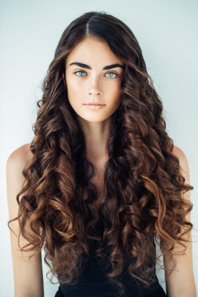 Curly Hairstyles For Long Hair: 19 Kinds Of Curls To Consider In Long Hairstyles With Curls (View 20 of 25)