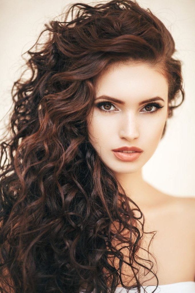 Curly Hairstyles For Long Hair: 19 Kinds Of Curls To Consider With Regard To Long Hairstyles At Home (View 19 of 25)