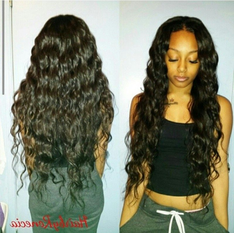 Curly Long Weave Hairstyles | Beweave Me ? | Curly Hair Styles with regard to Long Weave Hairstyles