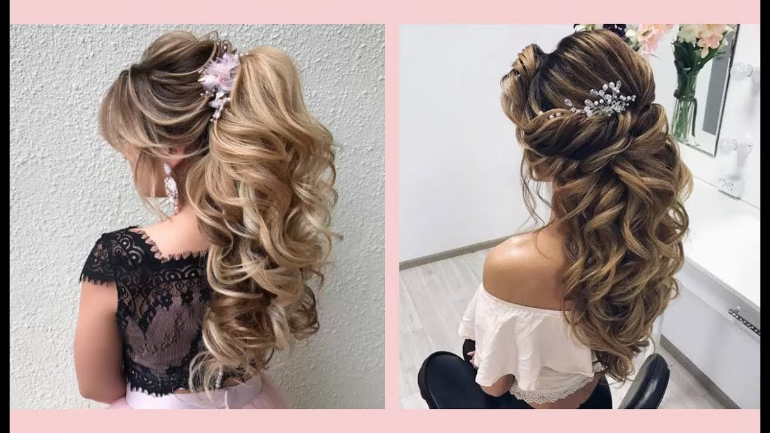 Curly Prom Hairstyles For Medium Long Hair | Curly Or Wavy | Best With Curly Prom Prom Hairstyles (View 24 of 25)