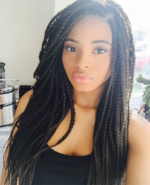 Cute Afro Long Hairstyles For African American Women 2015 – 2016 pertaining to Long Hairstyles For Black People