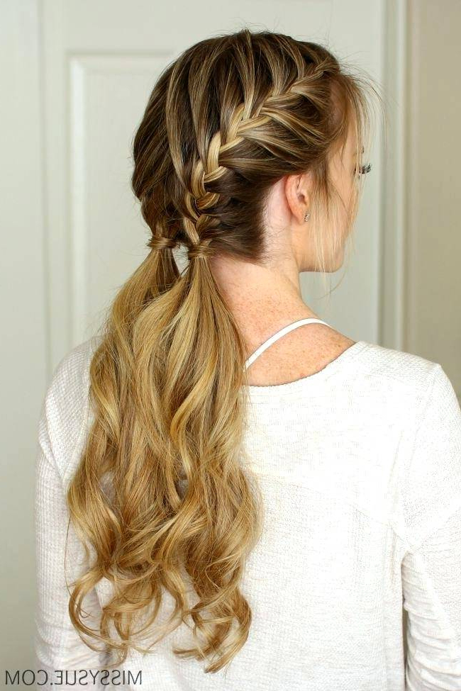Cute And Easy Hairstyles For Long Thin Hair – Curlyhairstyle (View 7 of 25)