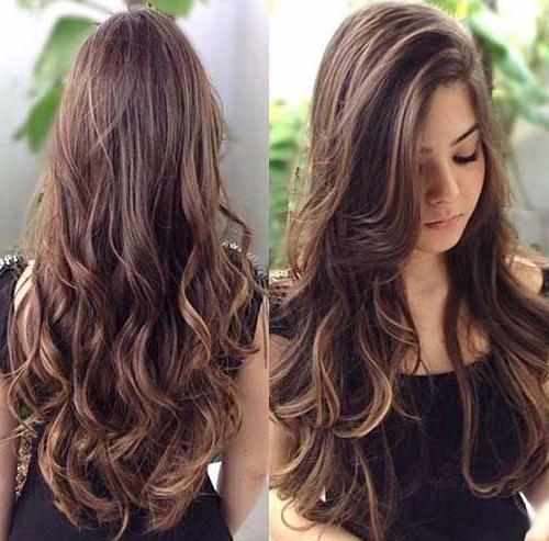 Cute Brunette Long Hair | My Style | Curly Hair Styles, Long Hair In Long Haircuts For Brunettes (View 11 of 25)
