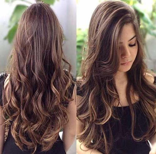 Cute Brunette Long Hair | My Style | Curly Hair Styles, Long Hair Pertaining To Brunette Long Haircuts (View 3 of 25)