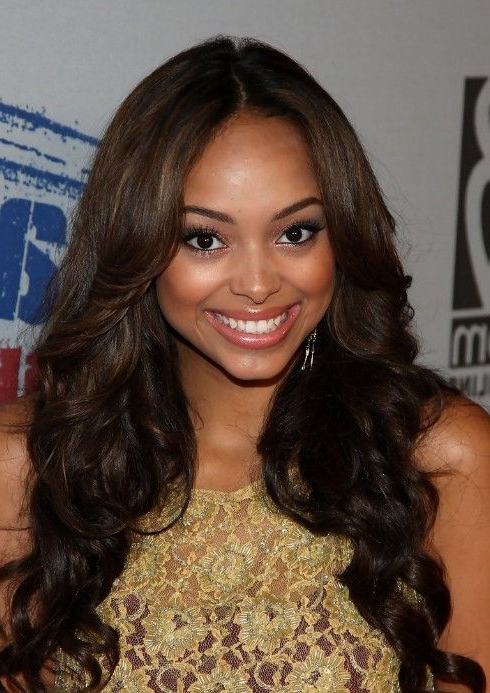 Featured Photo of Cute Long Hairstyles For Black Women
