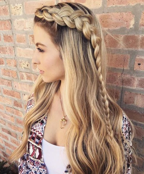 Cute Hairstyles For Long Hair Best Haircuts For You | ~ Hair? With Regard To Cute Braiding Hairstyles For Long Hair (View 2 of 25)