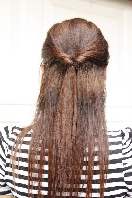 Cute Hairstyles For Long Straight Hair - Popular Haircuts regarding Long Hairstyles Front And Back View