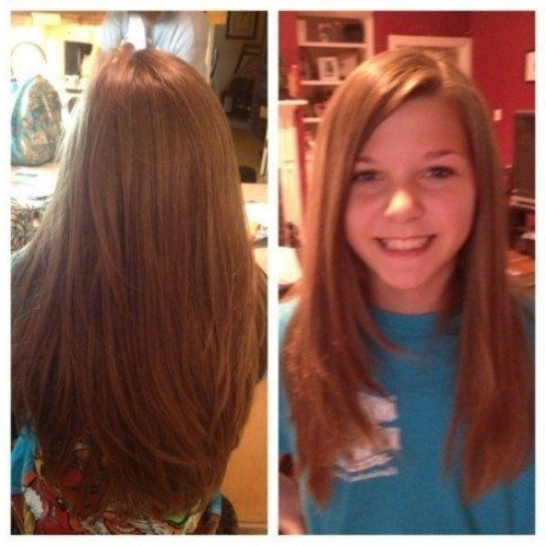 Cute Hairstyles For Teenage Girls With Long Straight Hair 12 With Long Hairstyles For Juniors (View 2 of 25)