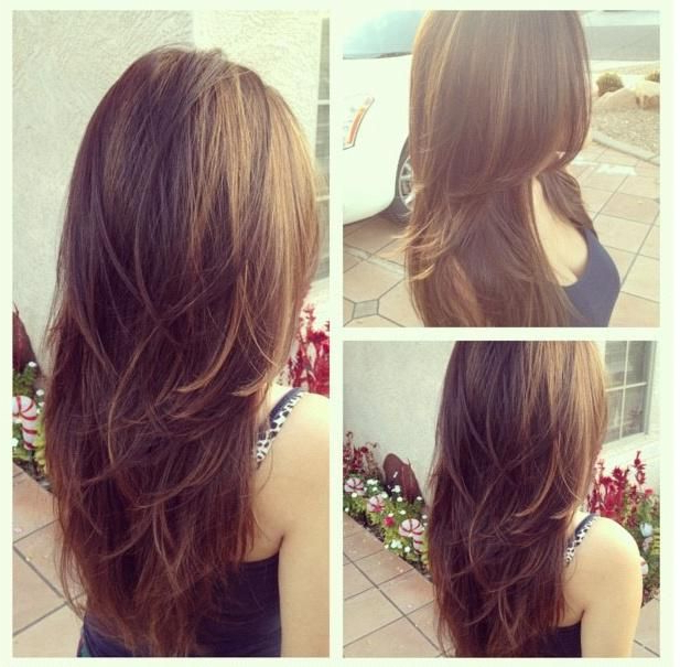 Cute Layered Long Hairstyle For Girls – Hairstyles Weekly Throughout Long Layered Japanese Hairstyles (View 13 of 25)